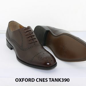 [Outlet size 38] Giày tây nam Brogues Oxford Cnes Tank390 003