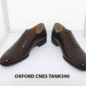 [Outlet size 38] Giày tây nam Brogues Oxford Cnes Tank390 002