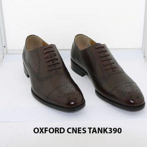 [Outlet size 38] Giày tây nam Brogues Oxford Cnes Tank390 001