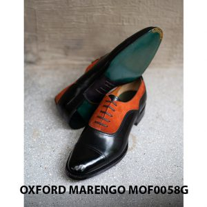 [Outlet size 41] Giày tây nam 2 màu Oxford Marengo MOF0058G 006