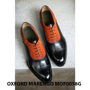 [Outlet size 41] Giày tây nam 2 màu Oxford Marengo MOF0058G 003