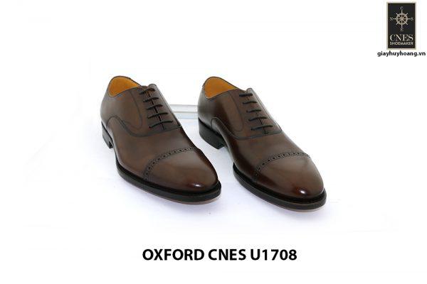 [Outlet size 45] Giày da nam cao cấp Oxford Cnes U1708 005