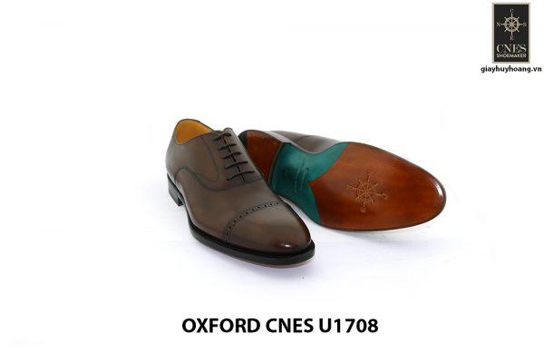 [Outlet size 45] Giày da nam cao cấp Oxford Cnes U1708 008