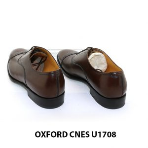 [Outlet size 45] Giày da nam cao cấp Oxford Cnes U1708 007