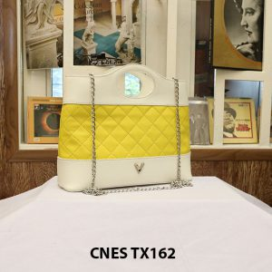 Túi xách nữ cao cấp da bê CNES TX162 002