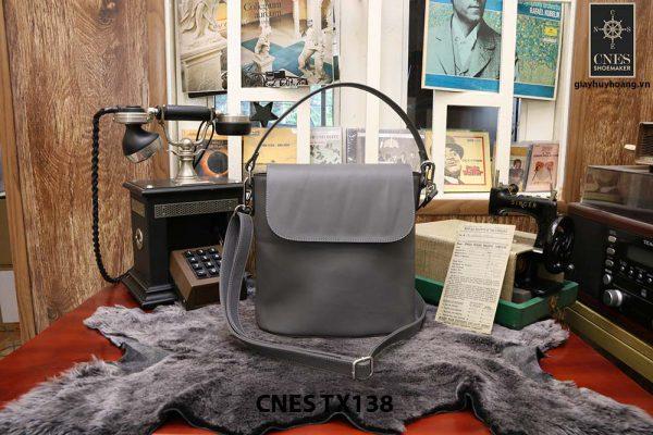 Túi xách thời trang nữ CNES TX138 màu xám 001