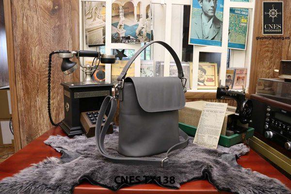 Túi xách thời trang nữ CNES TX138 màu xám 003
