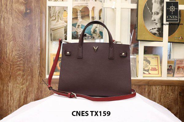Túi xách công sở nữ đẹp da bê CNES TX159 001