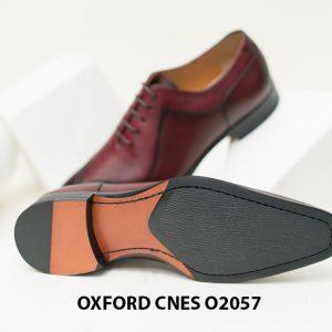 Giày tây nam da bò Oxford CNES O2057 00+6