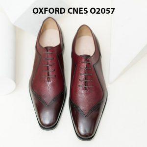 Giày tây nam da bò Oxford CNES O2057 001