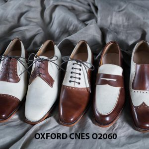 Giày tây nam buộc dây cao cấp Oxford CNES O2060 001