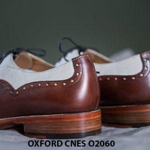 Giày tây nam buộc dây cao cấp Oxford CNES O2060 007
