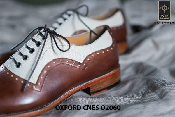 Giày tây nam buộc dây cao cấp Oxford CNES O2060 006