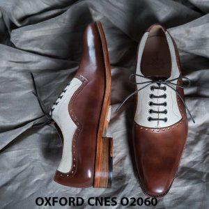 Giày tây nam buộc dây cao cấp Oxford CNES O2060 003