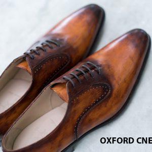 Giày da nam Patina sa mạc Oxford CNES O2061 006