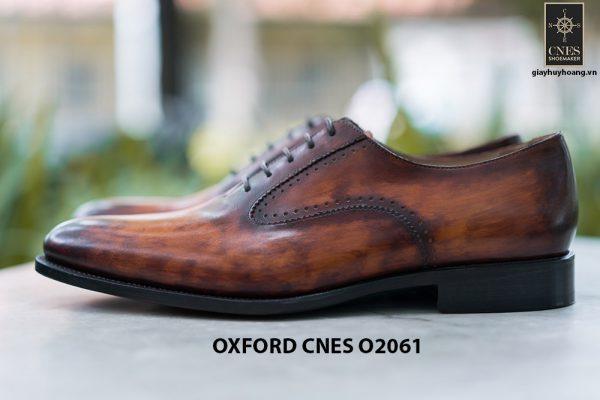 Giày da nam Patina sa mạc Oxford CNES O2061 004