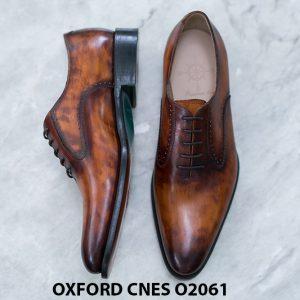 Giày da nam Patina sa mạc Oxford CNES O2061 001