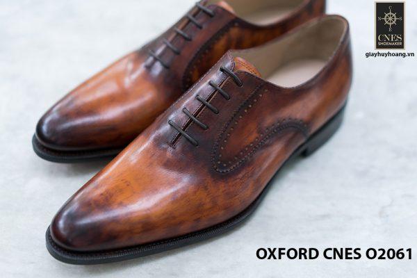 Giày da nam Patina sa mạc Oxford CNES O2061 003