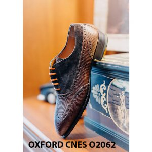 Giày da nam Full brogues Oxford CNES O2062 005