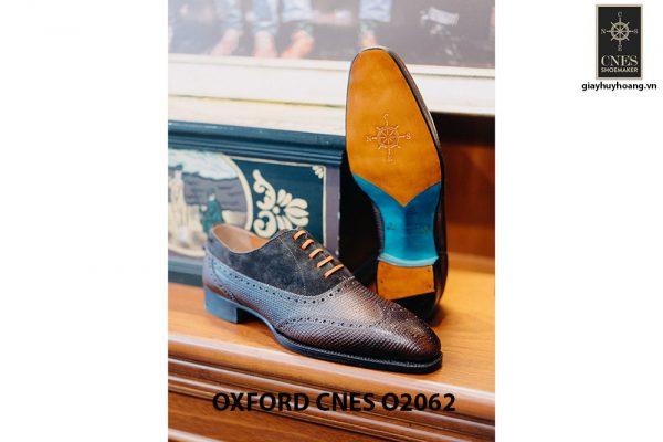Giày da nam Full brogues Oxford CNES O2062 004