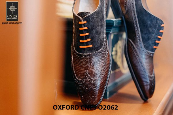 Giày da nam Full brogues Oxford CNES O2062 003