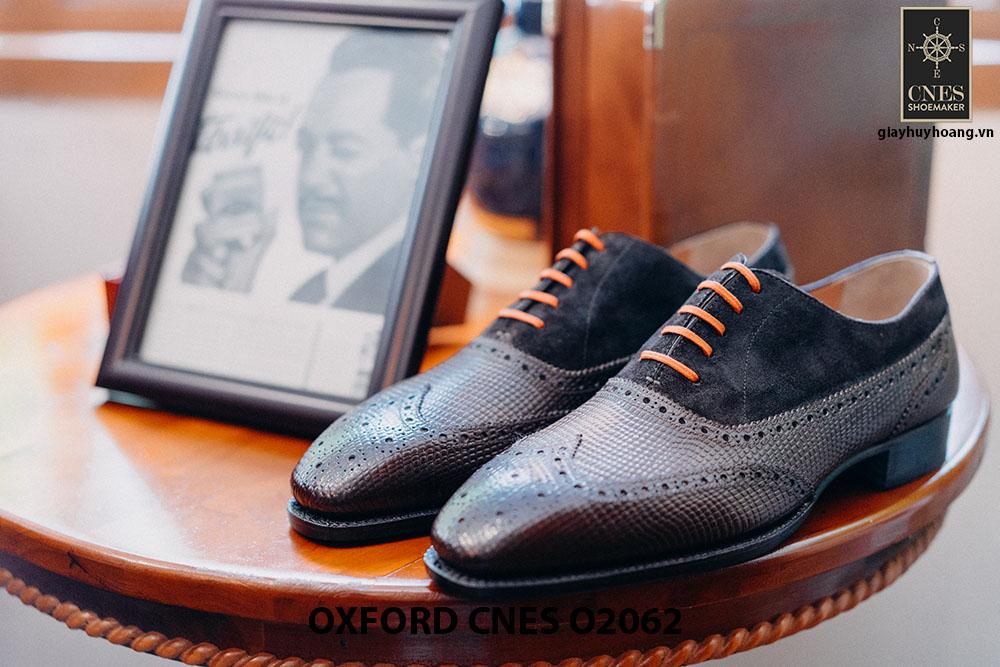 Giày da nam Full brogues Oxford CNES O2062 001