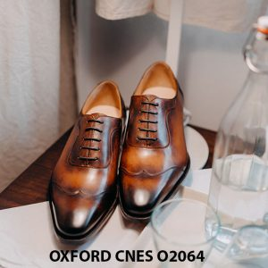 Giày tây nam thời trang 2021 Oxford CNES O2064 001