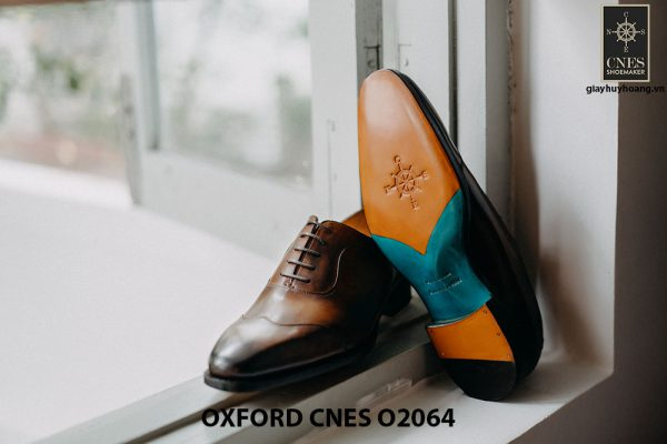Giày tây nam thời trang 2021 Oxford CNES O2064 003