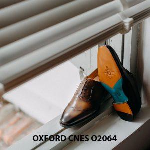 Giày tây nam thời trang 2021 Oxford CNES O2064 002