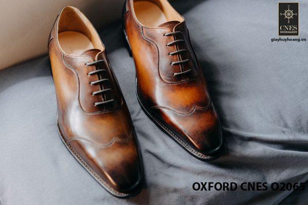 Giày tây nam thời trang 2021 Oxford CNES O2064 009