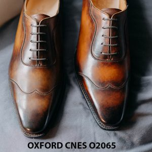 Giày tây nam thời trang 2021 Oxford CNES O2064 008