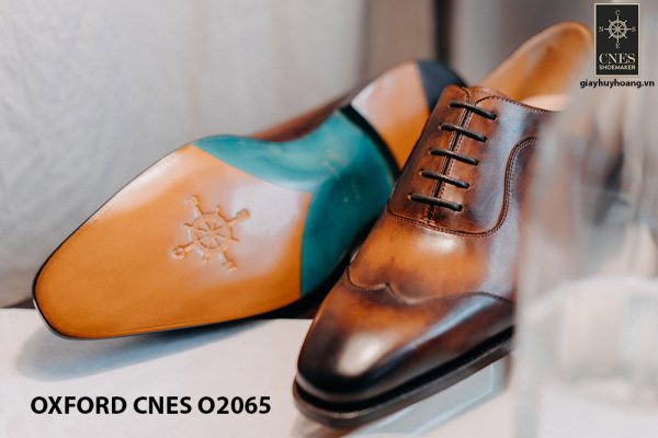 Giày tây nam thời trang 2021 Oxford CNES O2064 007
