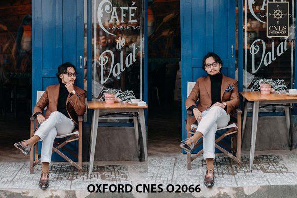 Giày tây nam đẹp sang trọng Oxford CNES O2066 002