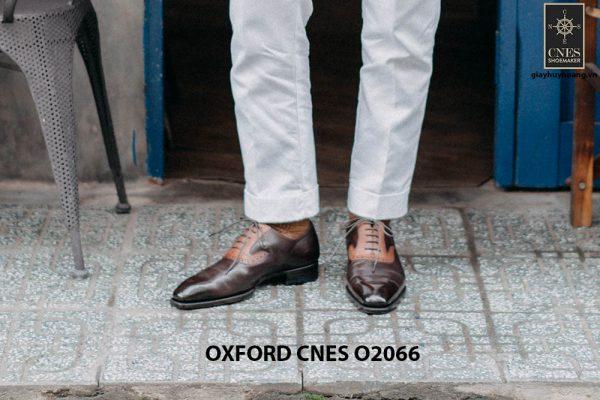 Giày tây nam đẹp sang trọng Oxford CNES O2066 004