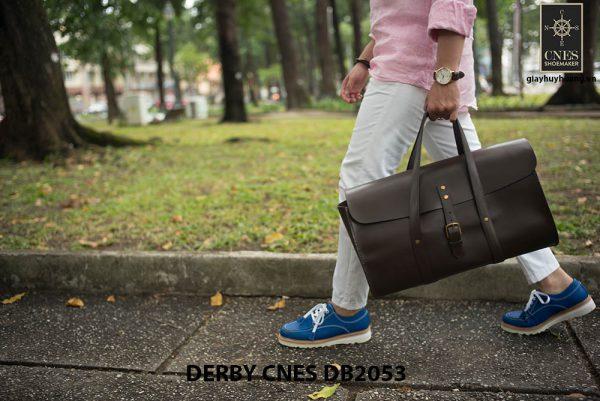 Giày tây nam da lộn Derby CNES DB2053 003