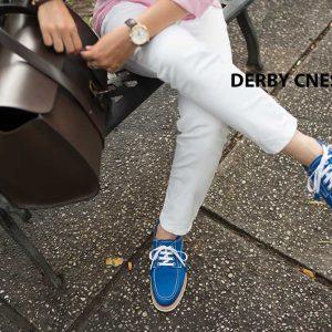 Giày tây nam da lộn Derby CNES DB2053 001
