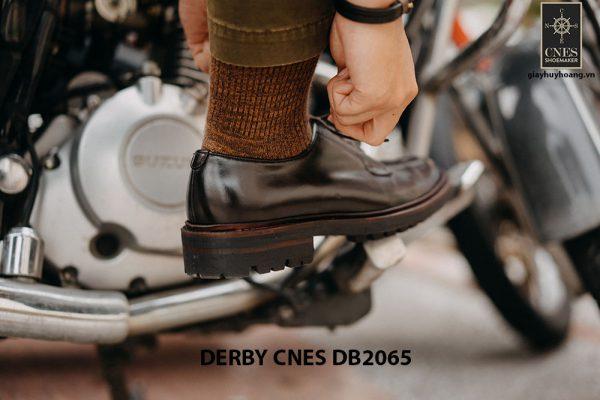 Giày tây nam da bê ý Derby CNES DB2065 004