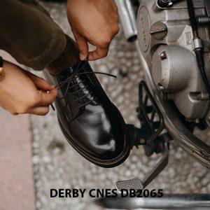 Giày tây nam da bê ý Derby CNES DB2065 003
