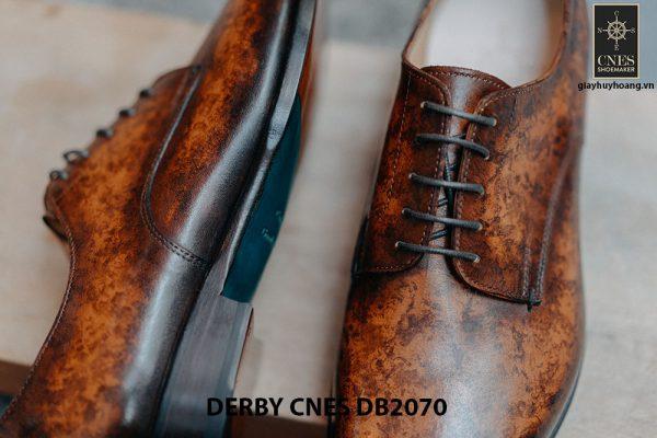 Giày da nam đánh Patina Derby CNES DB2070 006