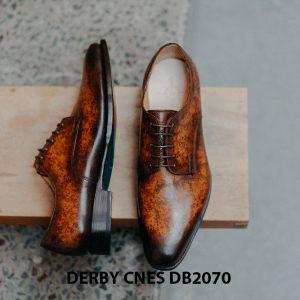 Giày da nam đánh Patina Derby CNES DB2070 005
