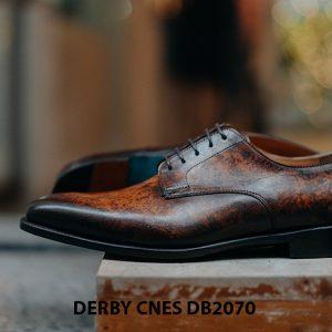 Giày da nam đánh Patina Derby CNES DB2070 004