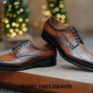 Giày da nam đánh Patina Derby CNES DB2070 002