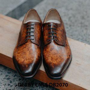Giày da nam đánh Patina Derby CNES DB2070 001