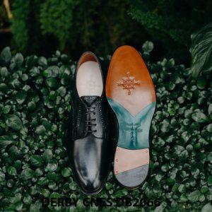 Giày tây nam mũi tròn Derby CNES DB2066 001