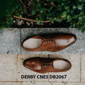 Giày tây nam mui hở Derby CNES DB2067 004