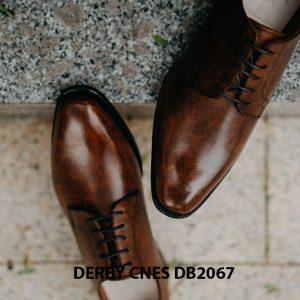 Giày tây nam mui hở Derby CNES DB2067 003