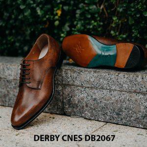 Giày tây nam mui hở Derby CNES DB2067 002