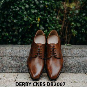 Giày tây nam mui hở Derby CNES DB2067 001