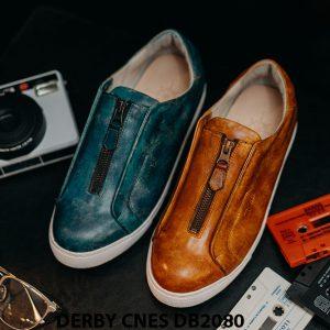 Giày tây nam có dây kéo sneaker Derby CNES DB2080 001