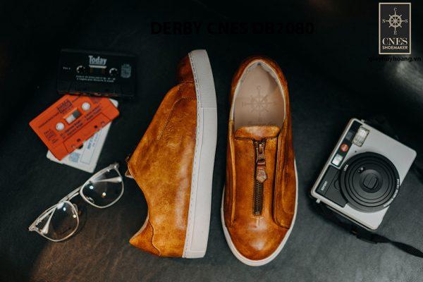 Giày tây nam có dây kéo sneaker Derby CNES DB2080 009